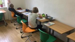 Freiarbeit im Gruppenraum